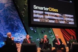 2009년 11월 뉴욕시 Smarter Cities 패널 토의